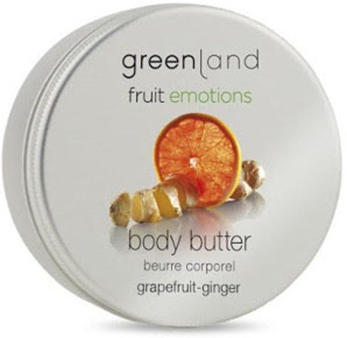 Масло косметическое Greenland Кремовое, для тела Greenland, грейпфрут-имбирь, 120 млFE0435Плотная кремовая текстура масла для тела глубоко питает и увлажняет кожу. Крем-масло станет настоящим спасением для сухой кожи. Входящие в состав масла ши и какао-бобов обладают богатым витаминным комплексом, антиоксидантами и минералами, что в результате дает потрясающий эффект - невероятно мягкую увлажненную эластичную кожу всего тела!