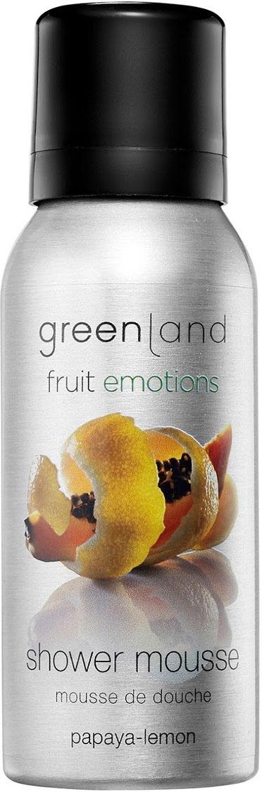 Мусс для душа Greenland, папайя-лимон, 50 мл Greenland