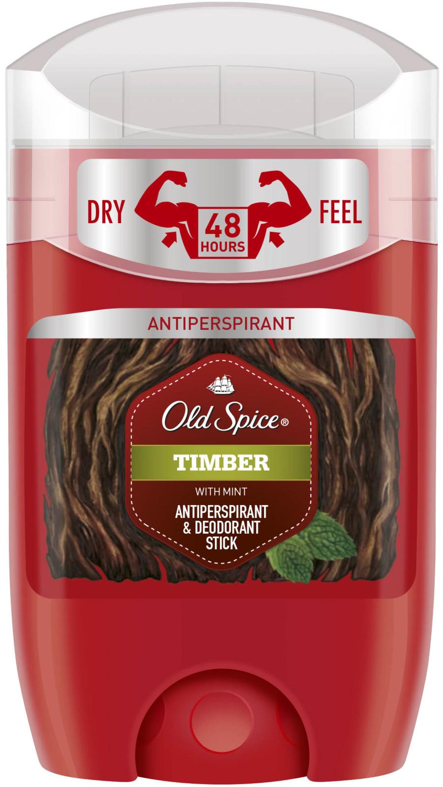 Дезодорант-антиперспирант твердый Old Spice Timber, 50 мл
