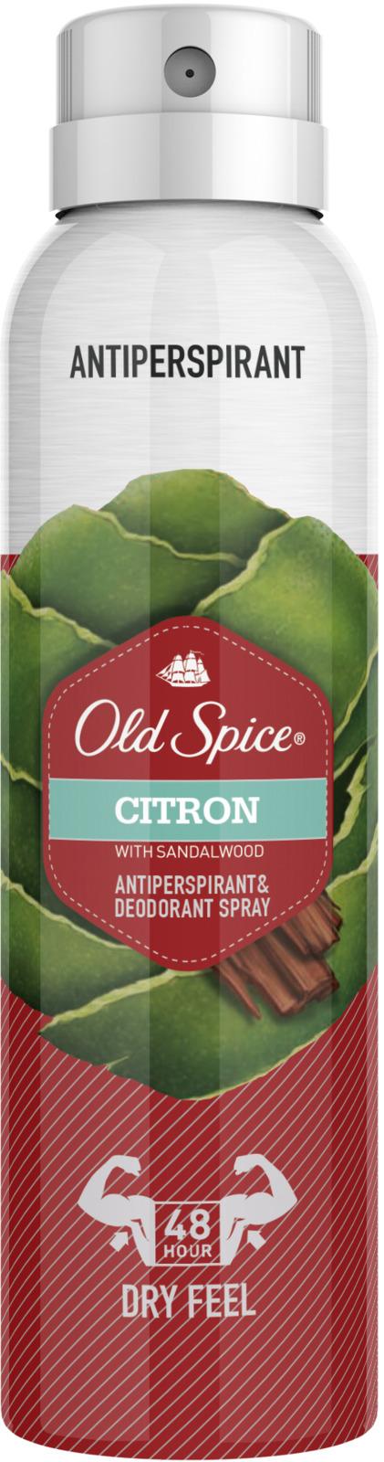 Дезодорант-антиперспирант аэрозольный Old Spice Citron, 150 мл