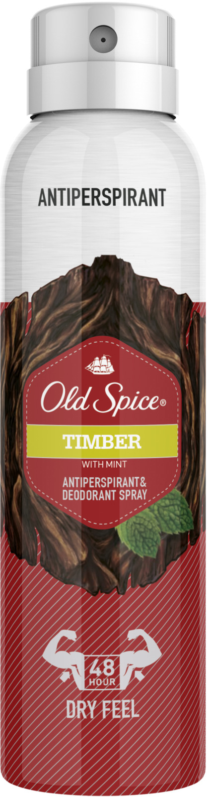 Дезодорант-антиперспирант аэрозольный Old Spice Timber, 150 мл