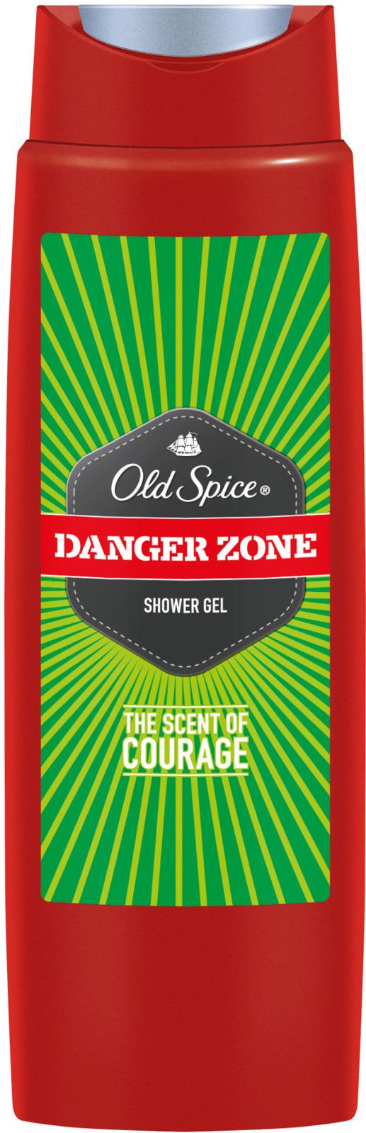 Гель для душа Old Spice Danger Zone, 250 мл