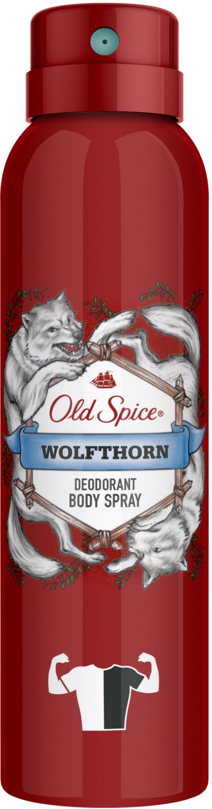 Дезодорант аэрозольный Old Spice Wolfthorn, 150 мл