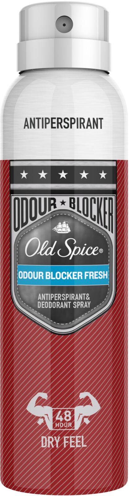 Дезодорант-антиперспирант аэрозольный Old Spice Odour Blocker Fresh, 150 мл