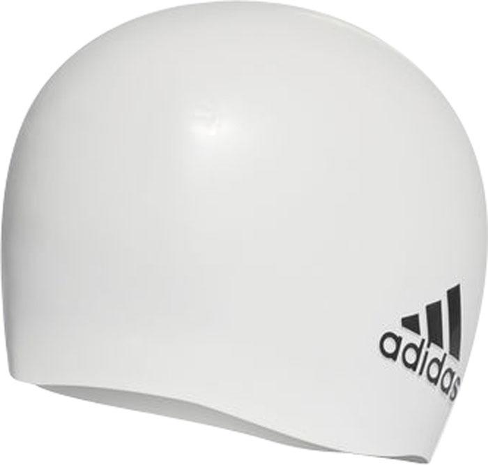 Плавательная шапочка Adidas Sil Cp Logo 1Pc, цвет: белый. 802315802315Плавательная шапочка удобная шапочка для снижения сопротивления воды. Лаконичная силиконовая шапочка для профессиональных пловцов. Плотно облегает голову, сохраняя волосы сухими в течение всей тренировки. Прочная и устойчивая к разрыву Комфортная и надежная посадка Рельефный логотип adidas у нижнего края