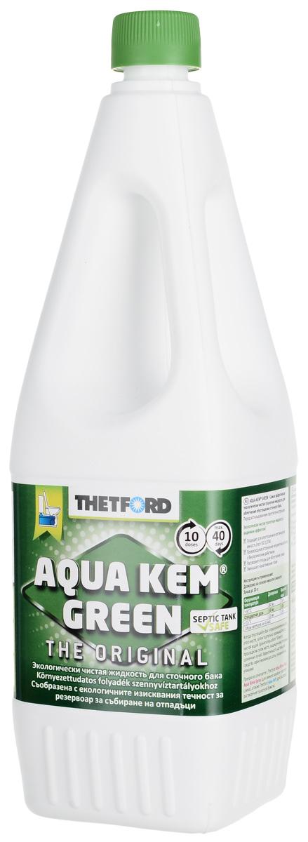 Жидкость для септиков и биотуалетов Thetford АкваКемГрин, 1,5 л
