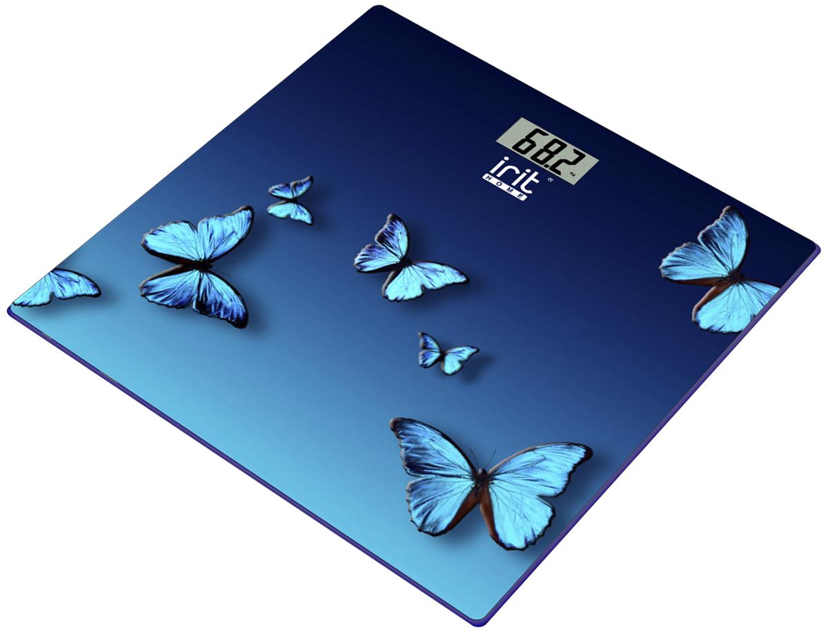 Весы напольные Irit IR-7264IR-72644-х разрядный ЖК дисплей. Включение путем касания, Автоотключение через 8 сек, Индикация перегрузки, Индикация разряда батареи, Максимальный вес - 180 кг, Дискретность - 100 г, Элемент питания: 2 батарейки типа ААA (входят в комплект), Размер 28,5 х 29 см.