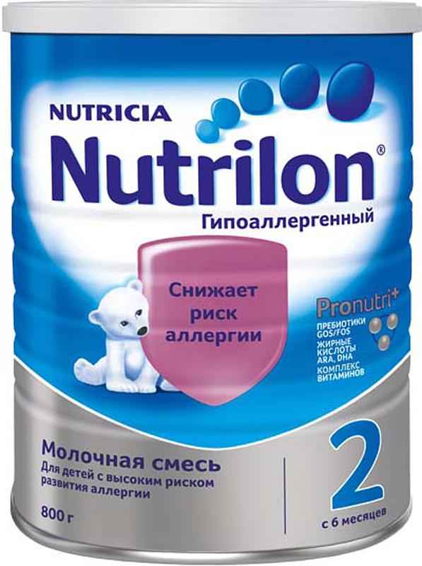 Смесь Nutrilon Гипоаллергенный 2, 800 г
