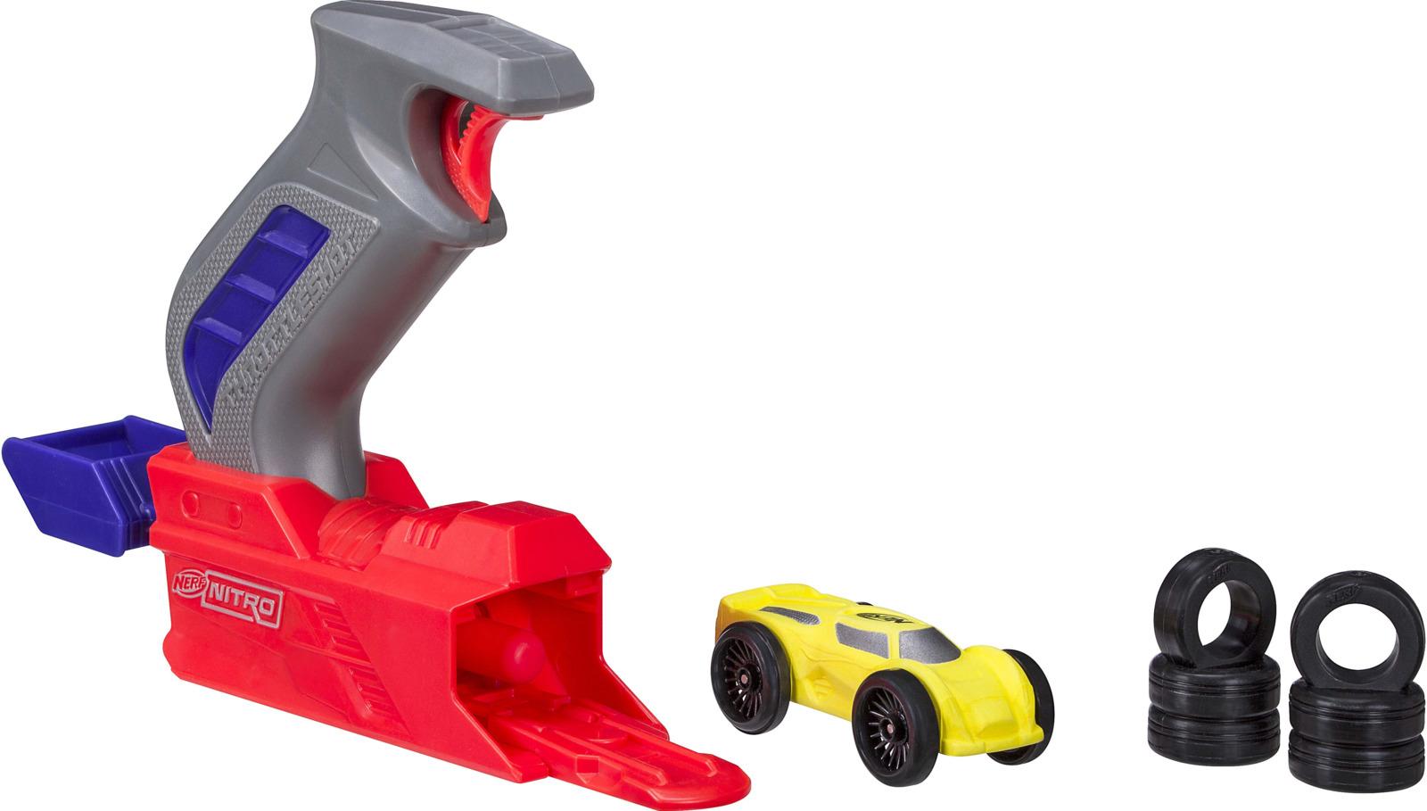 Игровой набор с машинкой Nerf Throttleshot Blitz. C0782
