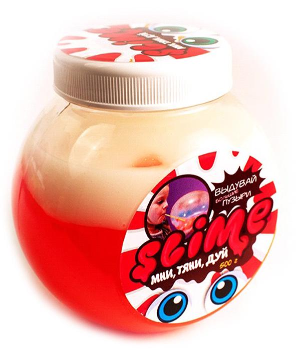 Жвачка для рук Slime Mega Mix, цвет: розовый, белый, 500 г