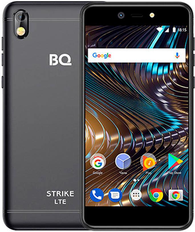Смартфон BQ Mobile 5209L Strike LTE 1/8GB, черный BQ Mobile