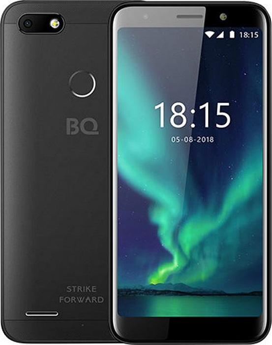 Смартфон BQ Mobile BQ 5512L Strike Forward 16 GB, черный смартфон bq mobile bq 5512l strike forward gold