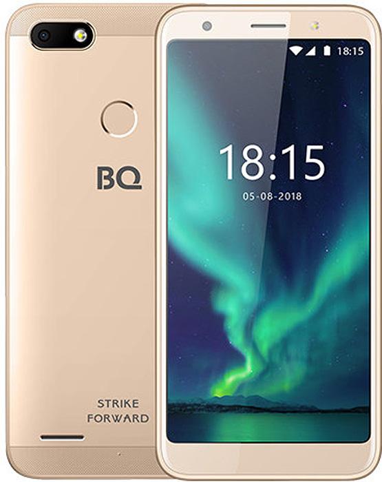 Смартфон BQ Mobile Strike Forward, золотой смартфон bq mobile bq 5512l strike forward gold
