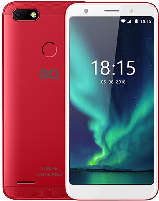Смартфон BQ Mobile Strike Forward 2/16GB red смартфон bq mobile bq 5512l strike forward gold