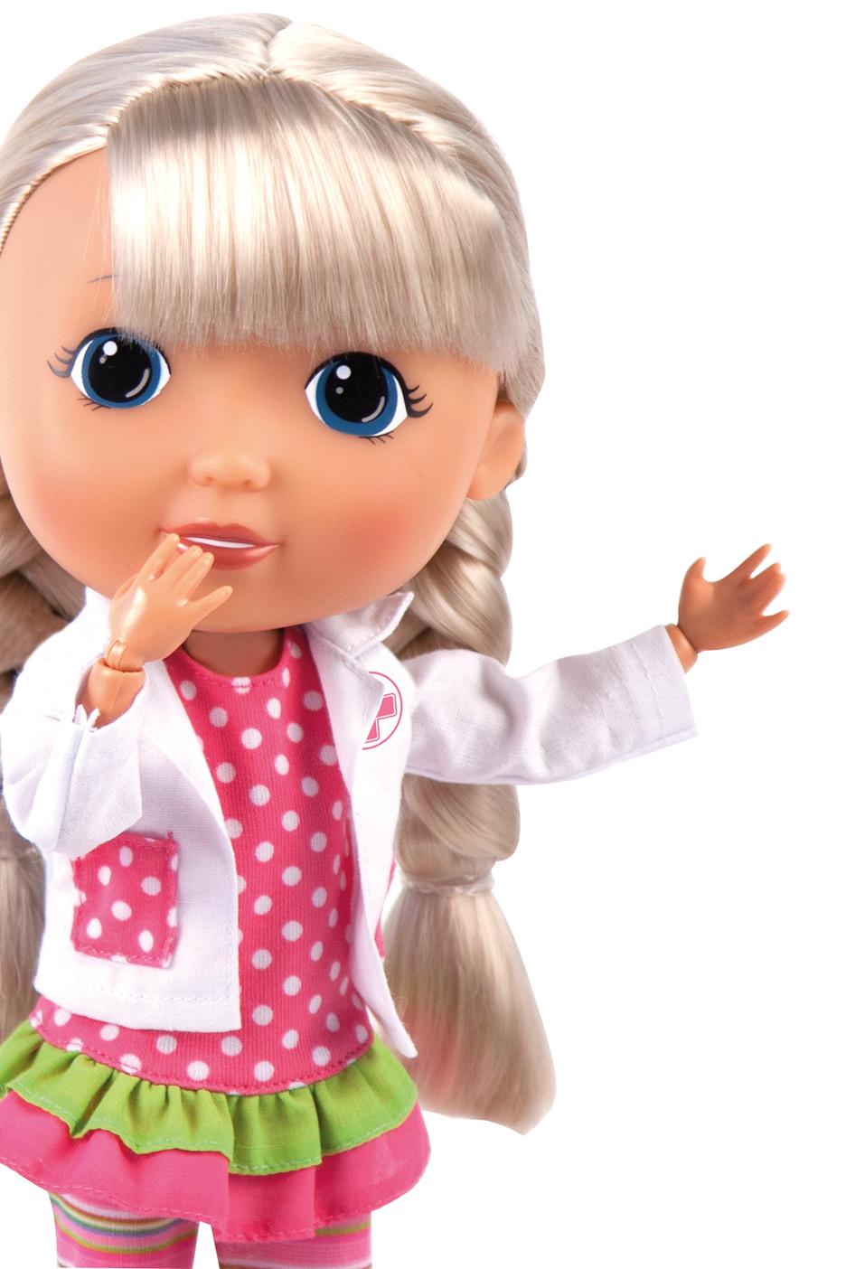 Игровой набор с куклой Bayer Design Кукла Лиза-лучший друг - доктор, 9360341 цена