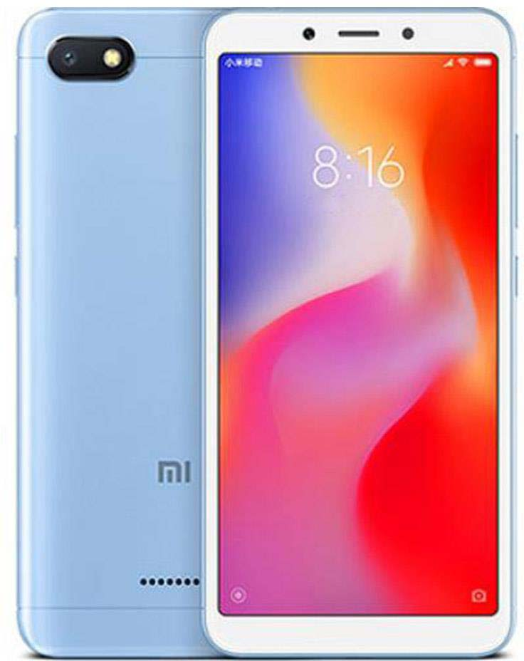 лучшая цена Смартфон Xiaomi Redmi 6A 2/16GB, синий