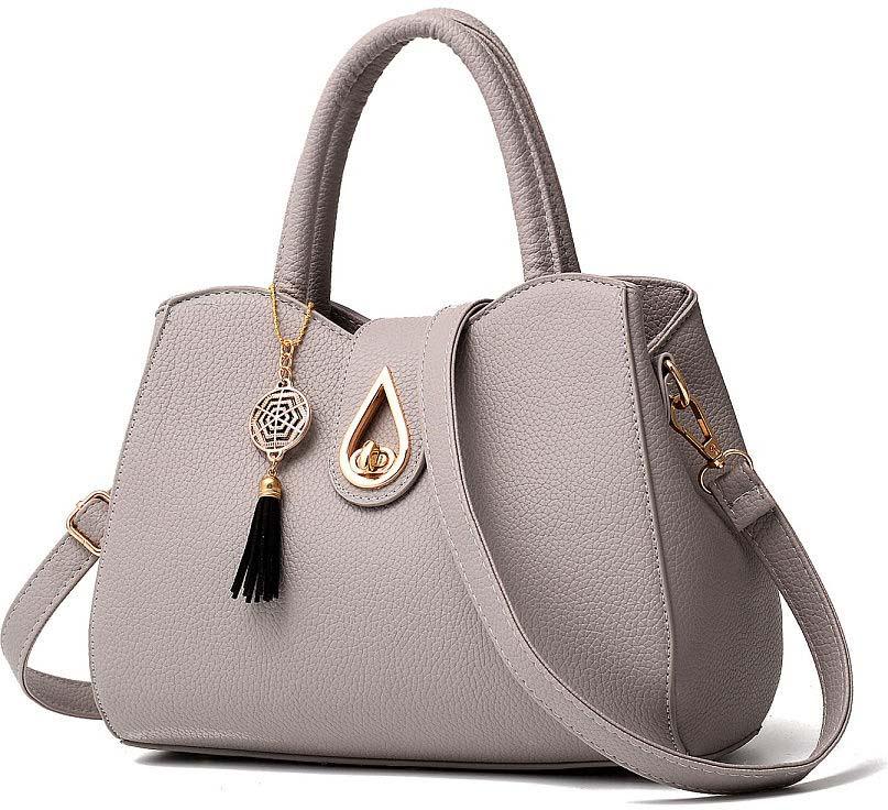 Сумка женская Kingth Goldn, цвет: серый. УТ-00001201 сумка женская kingth goldn цвет розовый ут 00000803