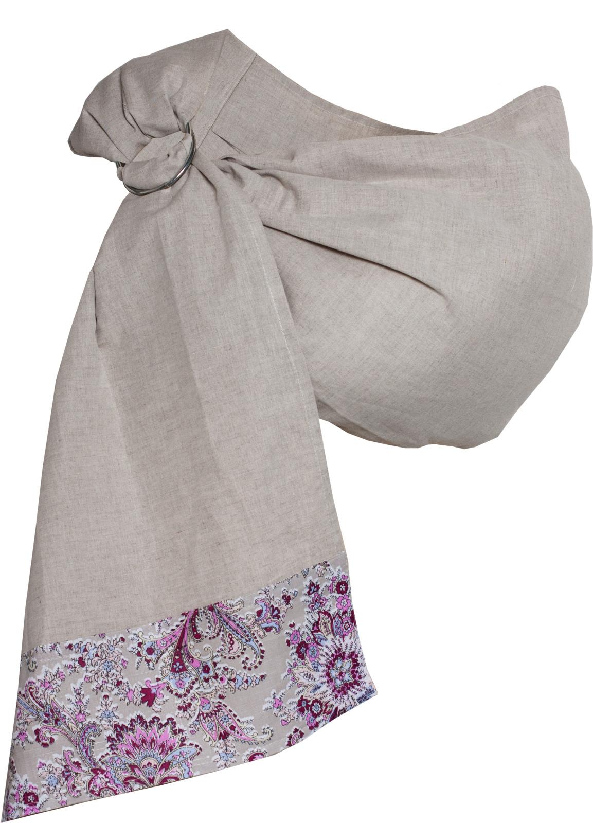 Слинг Чудо-Чадо Мамалето, с кольцами, цвет: лиловый