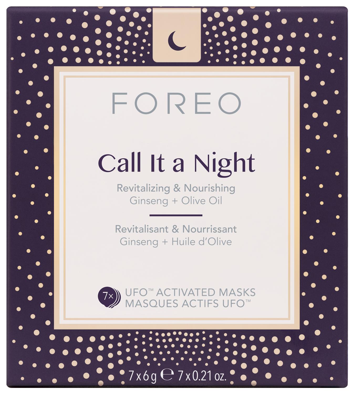 Маска для лица Foreo Ufo Call Lt The Night, активированная, 7 шт foreo call it a night ufo activated mask