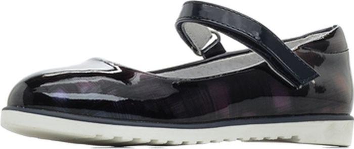 Туфли для девочки Mursu, цвет: сиреневый. 205008. Размер 30205008