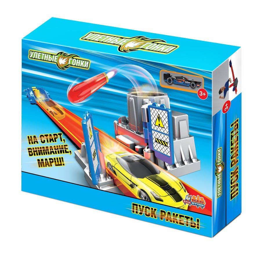 купить Игрушечный трек Улетные гонки Пуск ракеты недорого