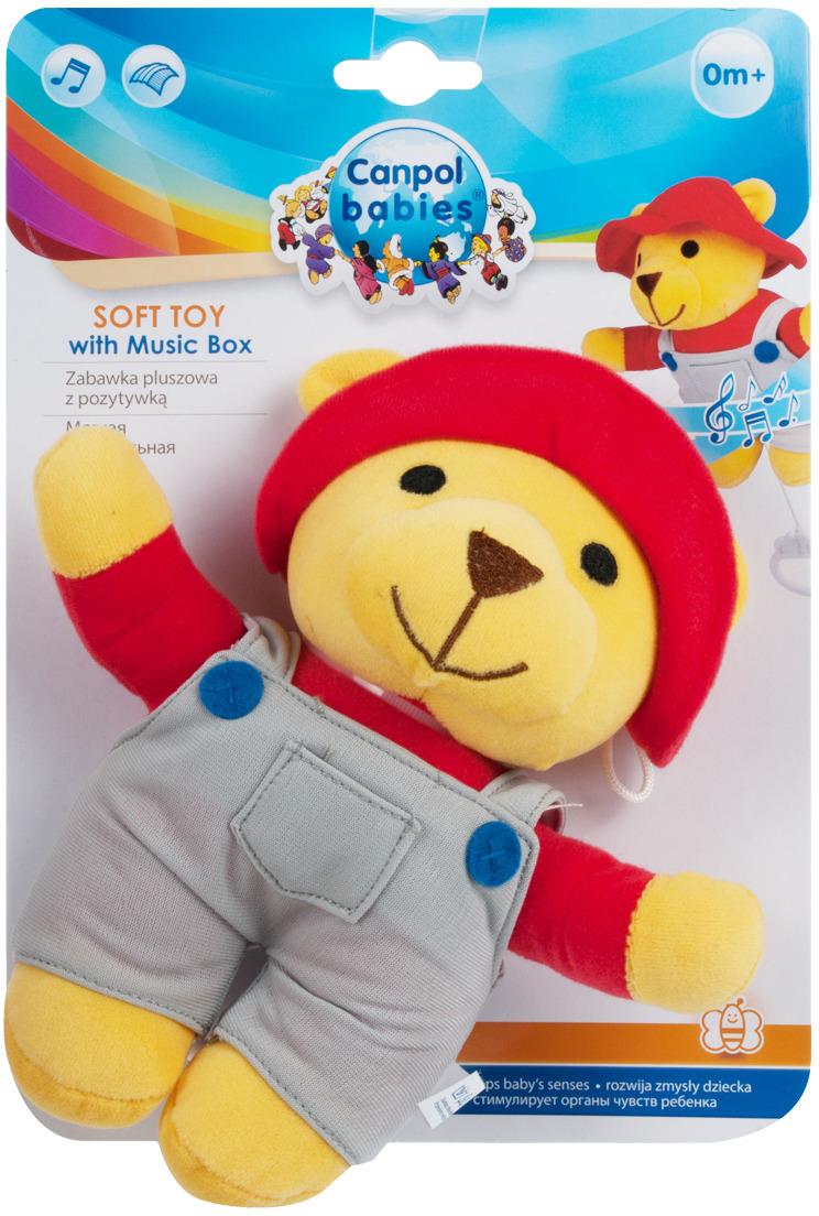 Canpol Babies Мягкая игрушка Мишка мальчик