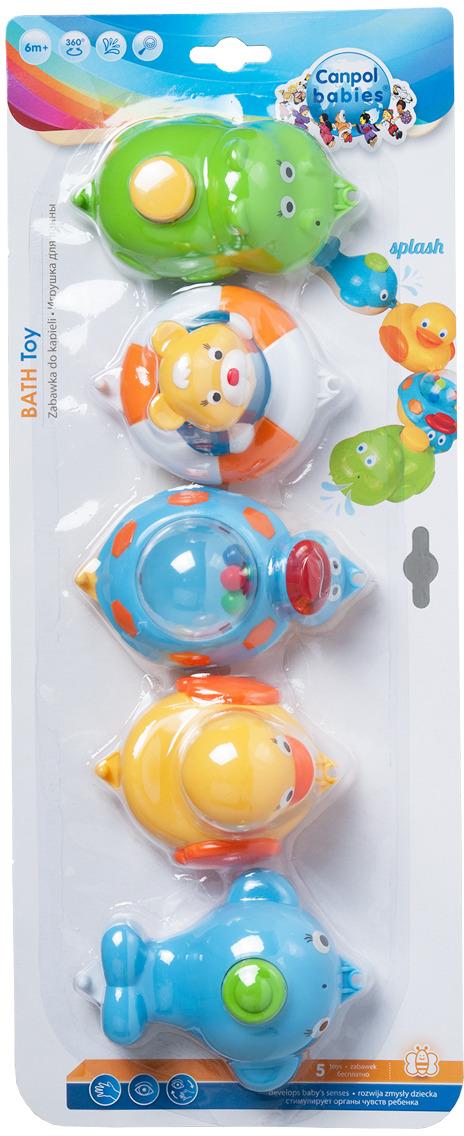 Canpol Babies Игрушки для ванны 5 фигурок