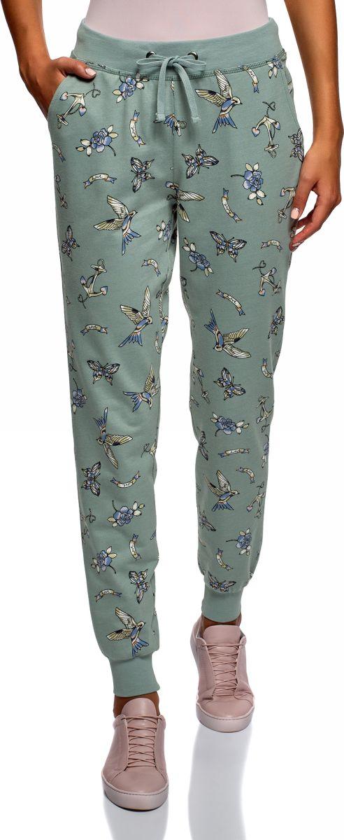 Брюки спортивные oodji брюки спортивные женские oodji ultra цвет голубой 16700045 2b 46949 7501n размер xl 50
