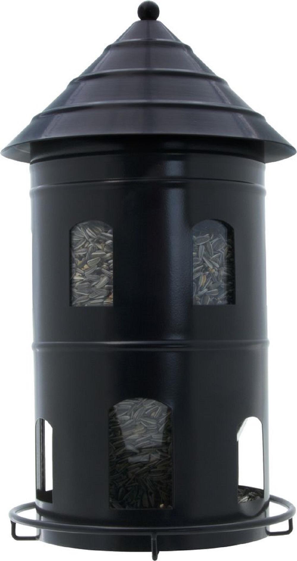 Кормушка Wildlife garden giant feeder Синий504_золотистый, салатовыйКормушка Giant Feeder. Крупная кормушка, которая предназначена для маленьких птиц. Конструкция позволяет птицам питаться, но не даёт разбрасывать семена. Внутренняя емкость для корма легко вынимается. Объём кормушки 6 л. Состоит из корпуса и съёмной внутренней емкости.