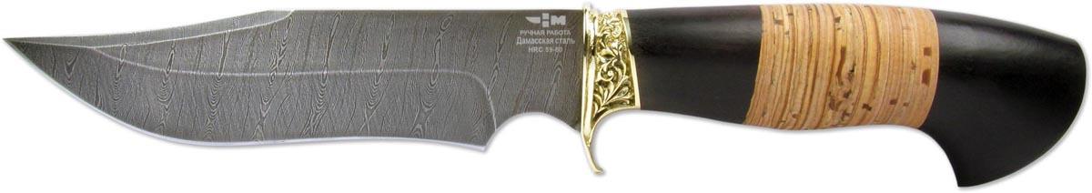 Нож туристический Ножемир Скала, ручная работа, в чехле, длина лезвия 15,2 см