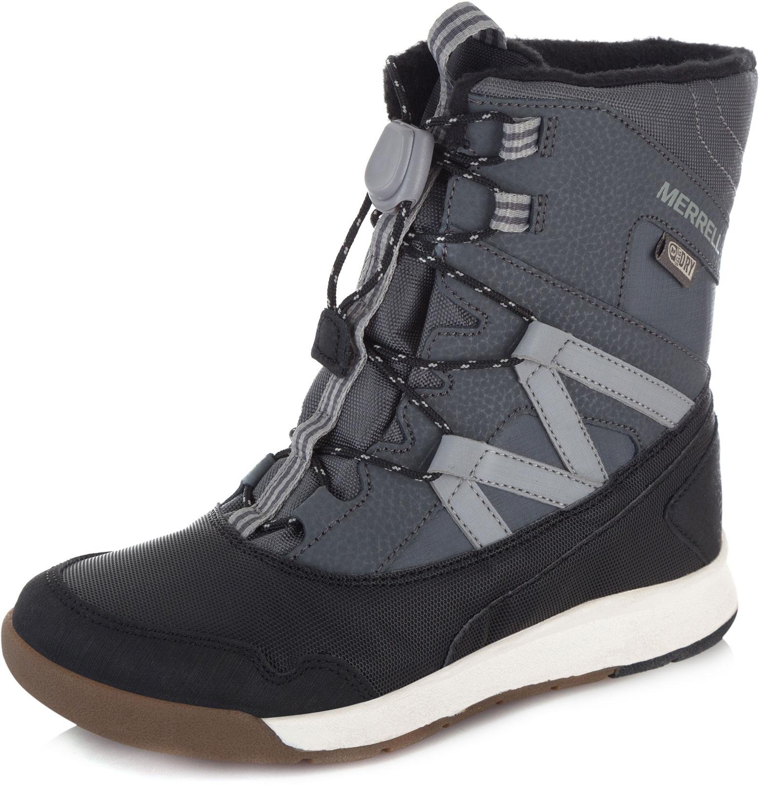 Ботинки Merrell M-Snow Crush Wtrpf ботинки для девочки merrell m moab fst polar mid a c wtrpf цвет черный розовый mk159178 размер 13 30