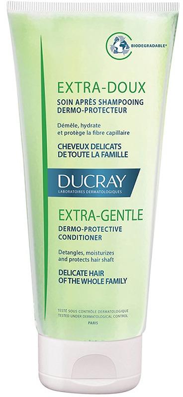 Защитный кондиционер для частого применения Ducray Extra-Doux, 200 мл шампунь для волос ducray extra doux 400 мл защитный для частого применения