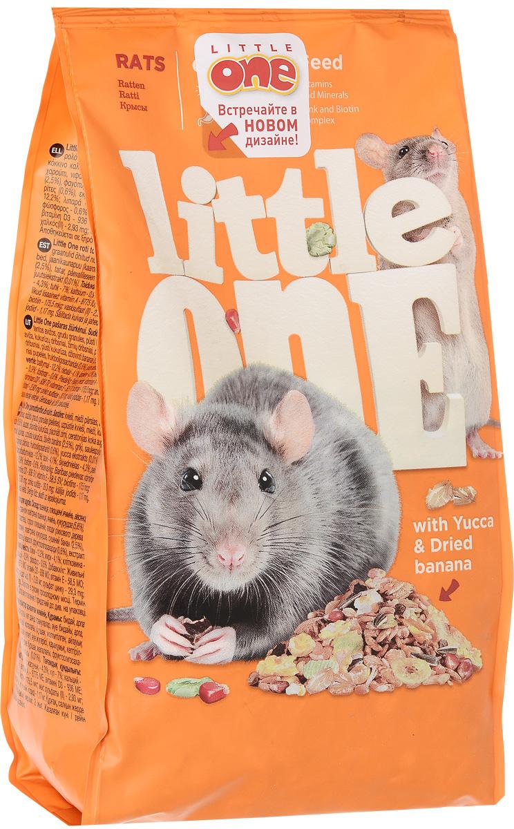 Корм для крыс Little One, 400 г16241Корм для крыс Little One - полноценное питание с добавлением витаминов и минеральных веществ. Разнообразный состав, включающий зерна, семена, плющеные бобовые, воздушные зерна, плоды и фрукты, а также вкусные хрустящие экструдированные кусочки. Без прессованных гранул. Товар сертифицирован. Уважаемые клиенты! Обращаем ваше внимание на то, что упаковка может иметь несколько видов дизайна. Поставка осуществляется в зависимости от наличия на складе. Рекомендуем!