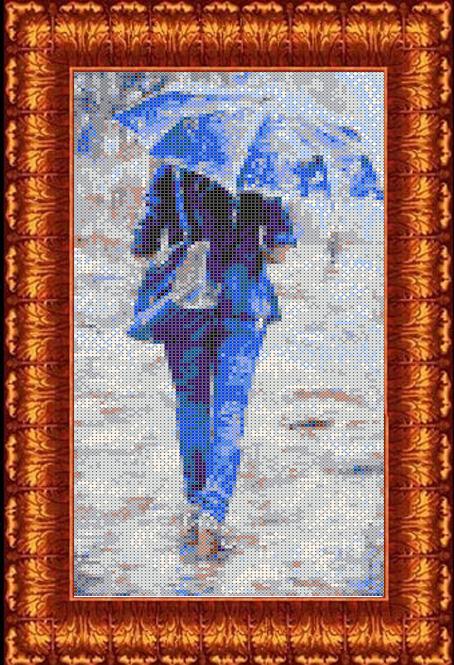 Набор для вышивания крестом Каролинка К судьбе, 15 х 30 см. кткн135 техника