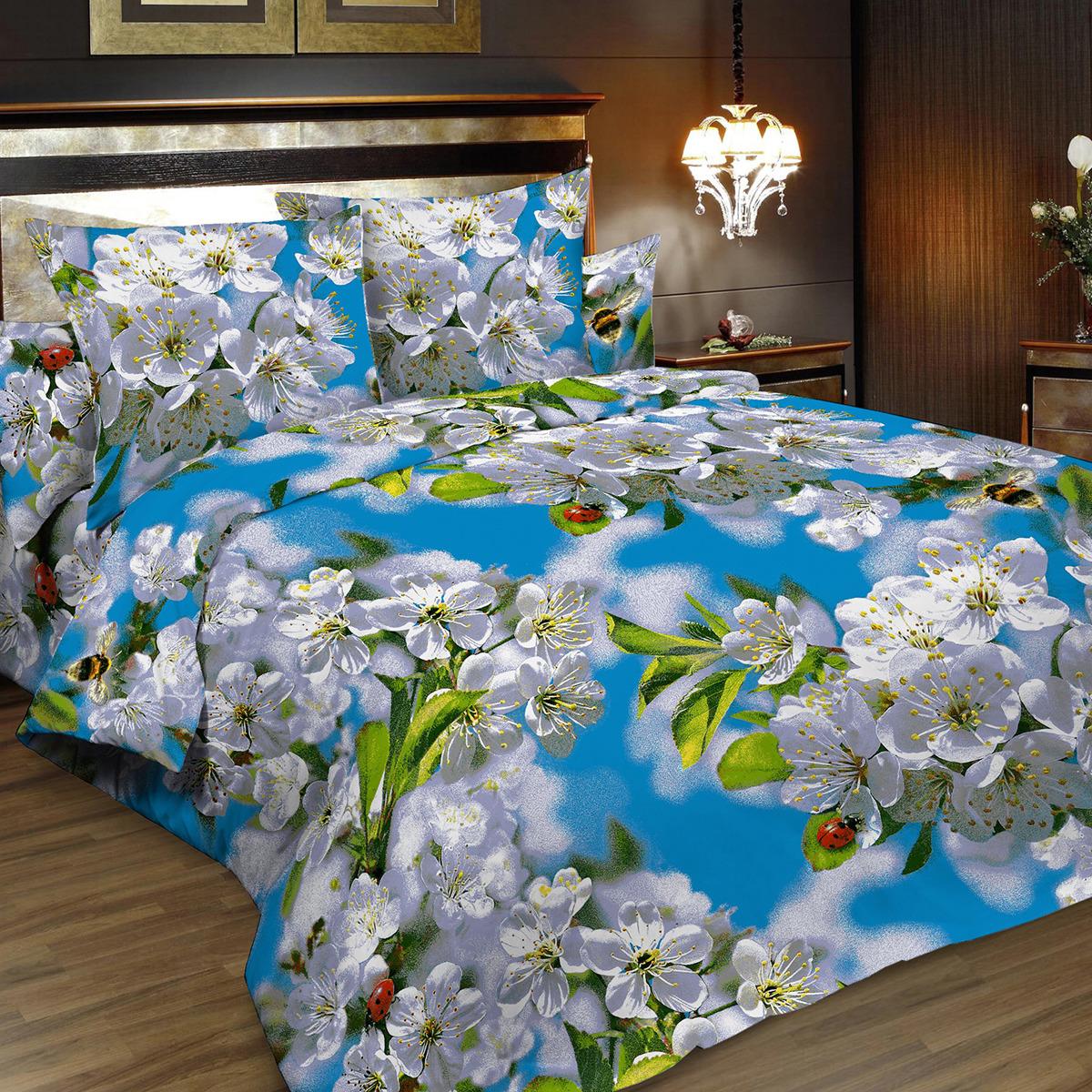 Комплект постельного белья Letto, 1,5-спальный, наволочки 70х70. B157-3