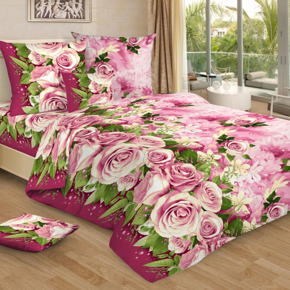 Комплект постельного белья Letto, 1,5-спальный, наволочки 70х70. B306-3