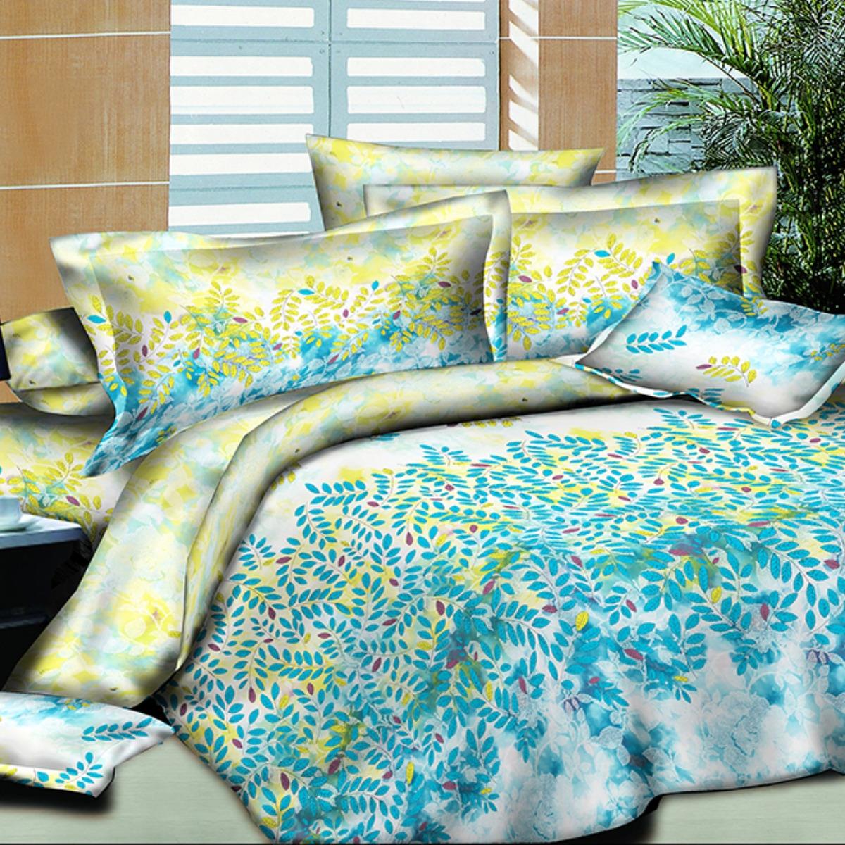 Комплект постельного белья Letto, 1,5-спальный, наволочки 70х70. PS130-3