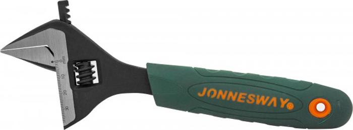 Ключ разводной Jonnesway, с увеличенным диапазоном, 0-38 мм, L-200 мм ключ гаечный разводной fit 70163 0 30 мм