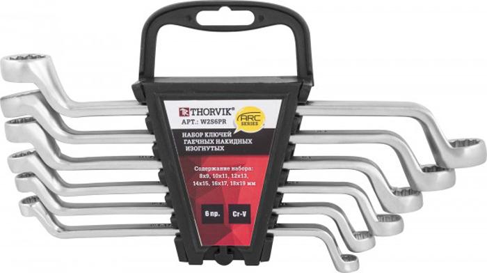 Набор ключей Thorvik, накидных на пластиковом держателе 8-19 мм, 6 предметов набор ключей рожковых fit усиленные модерн 9шт 6 22мм в пластиковом держателе 63515