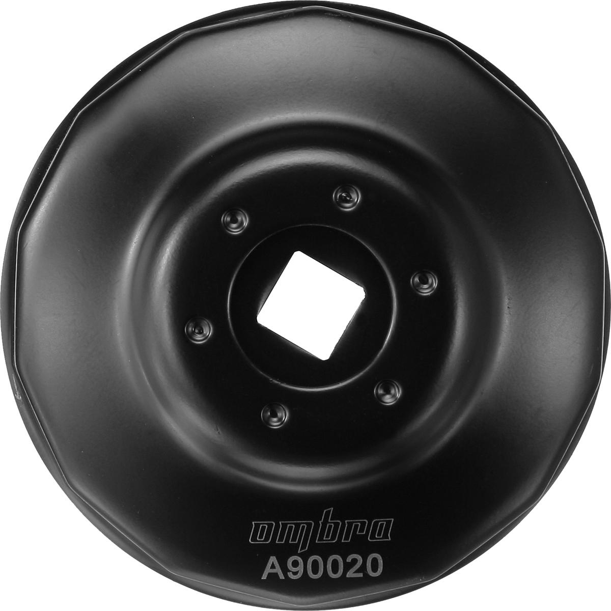 Съемник масляных фильтров Ombra чашка 14-граней, диаметр 68 мм съемник масляных фильтров кратон 63 102 мм