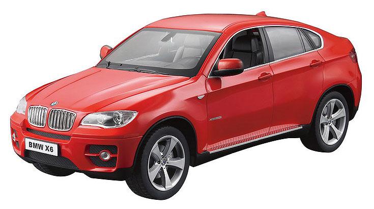 Радиоуправляемая модель Rastar BMW X6, масштаб 1:14, красный цена