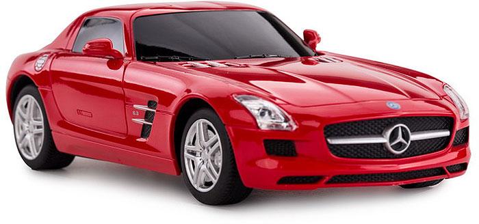 Радиоуправляемая модель Rastar Mercedes SLS AMG, масштаб 1:24, красный машинка радиоуправляемая mz mercedes benz 2370pf