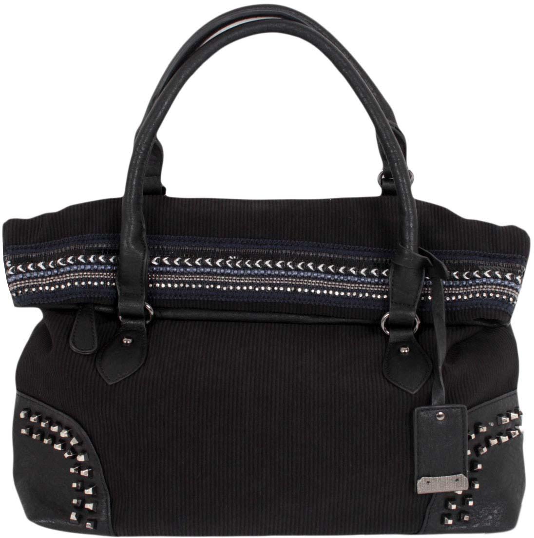 Сумка женская Flioraj, цвет: черный. 1375 бордовая сумка из экокожи