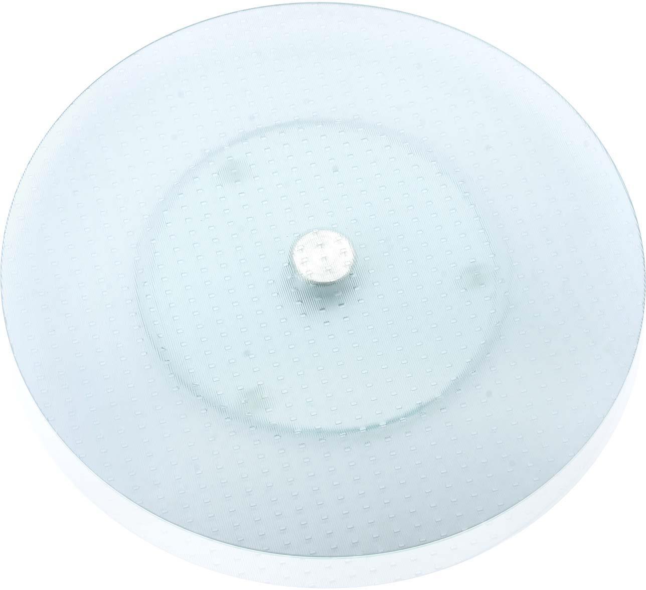 Тортовница Loraine, вращающаяся, цвет: прозрачный, диаметр 35 см