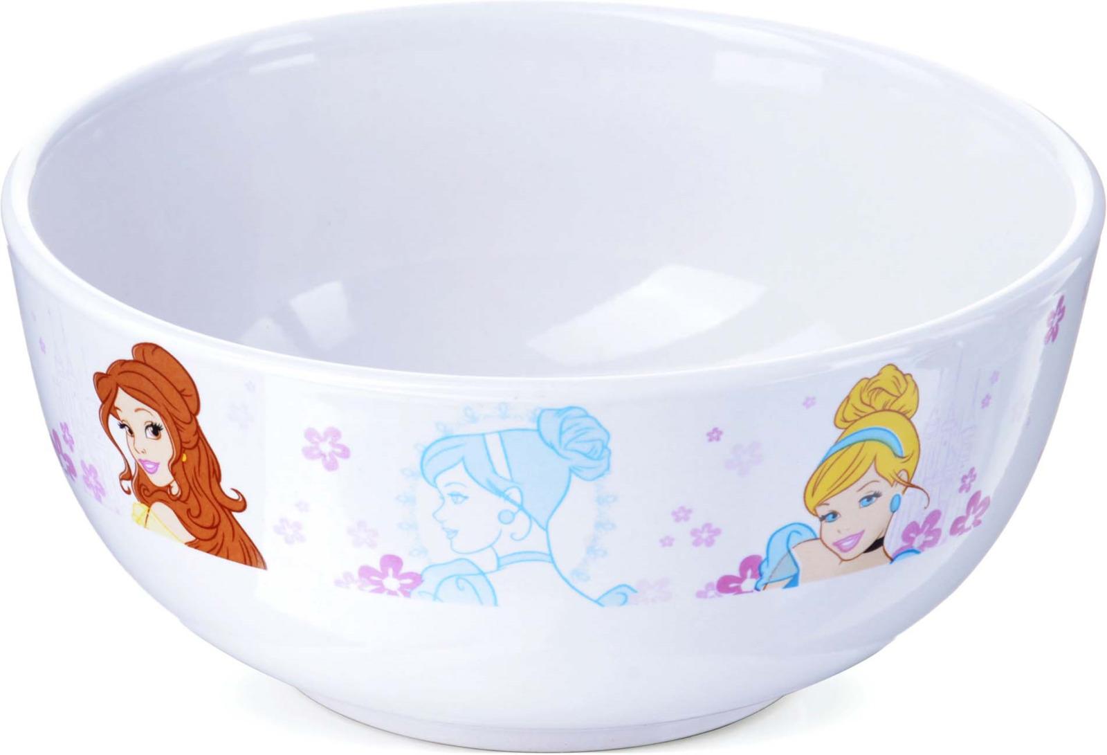 Тарелка детская Disney Princess, цвет: белый, розовый, коричневый, диаметр 14 см. 2770627706Тарелка PRINCESS Disney, выполненный из высококачественной керамики и декорированы красочным рисунком. Такая тарелка обязательно понравится вашему ребенку, потому что теперь у него будет своя собственная посуда с изображением героев популярных мультиков. Тарелка Disney - идеальный подарок для вашего ребенка. Подходит для мытья в посудомоечной машине. Рекомендуем!