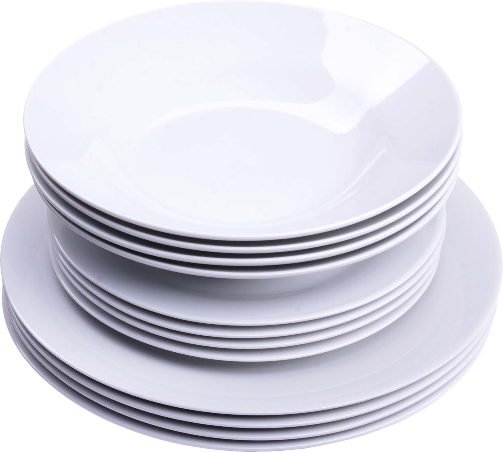 Сервиз обеденный Loraine, цвет: белый, 12 предметов. у4105