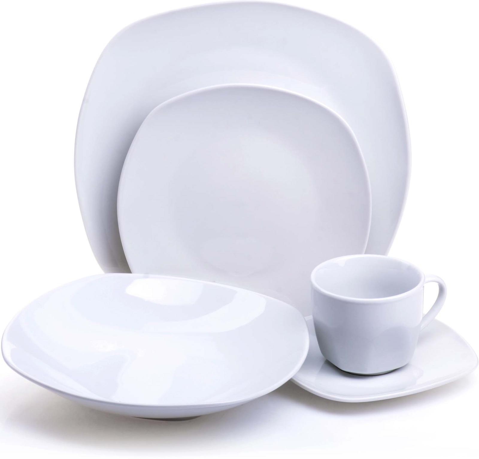 Сервиз обеденный Loraine, цвет: белый, 20 предметов. у4112