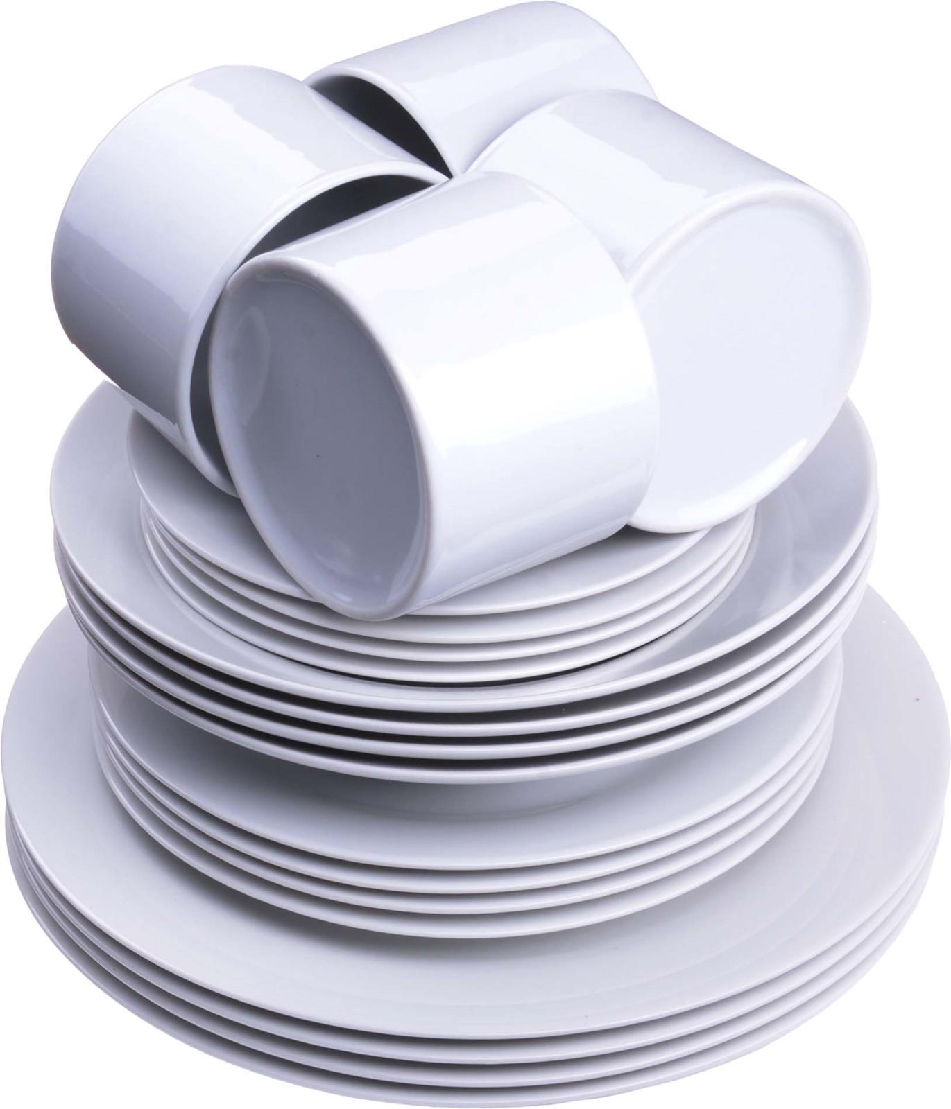 Сервиз обеденный Loraine, цвет: белый, 20 предметов. LR-27840