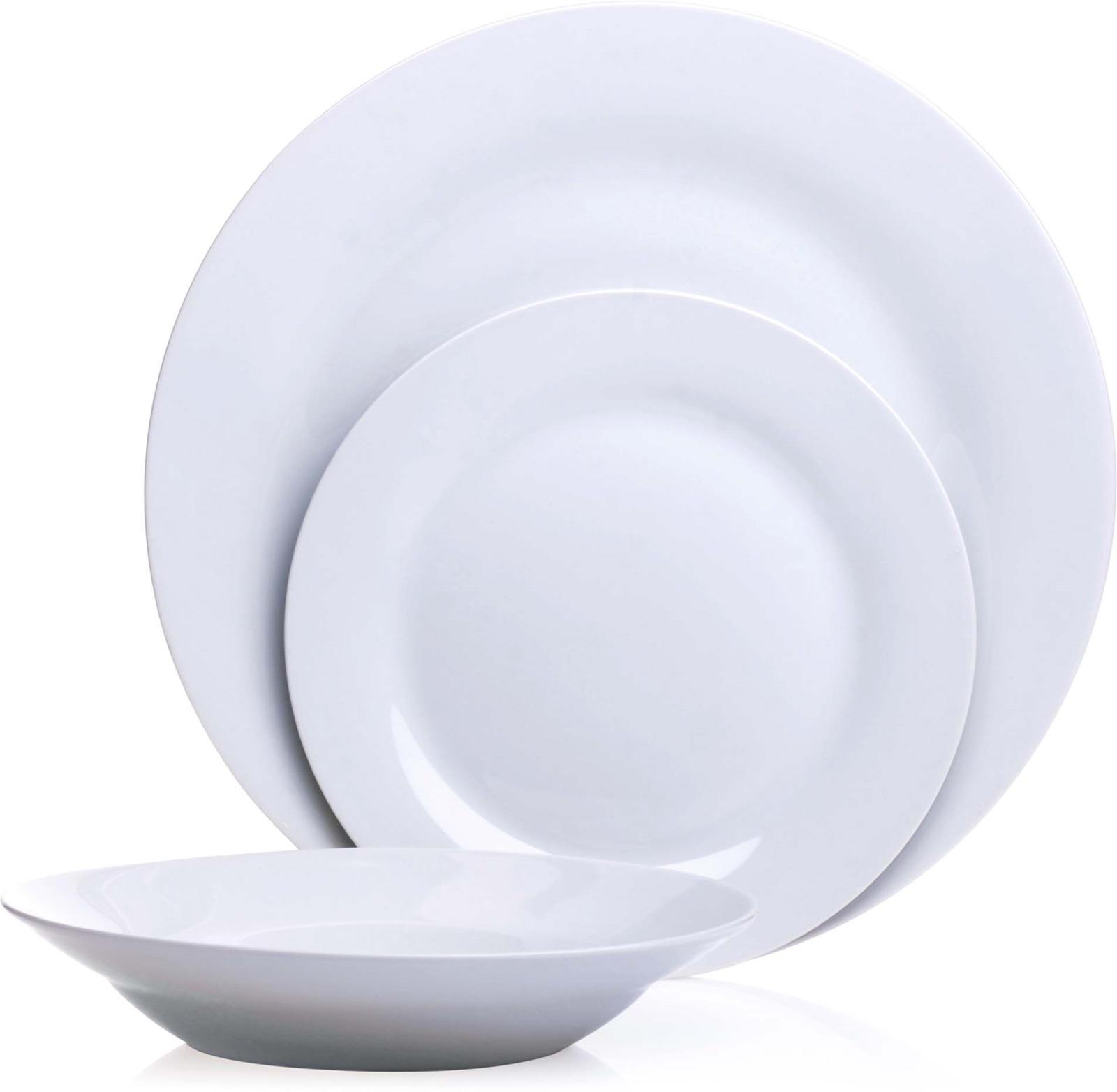 Сервиз обеденный Loraine, цвет: белый, 12 предметов. у4109