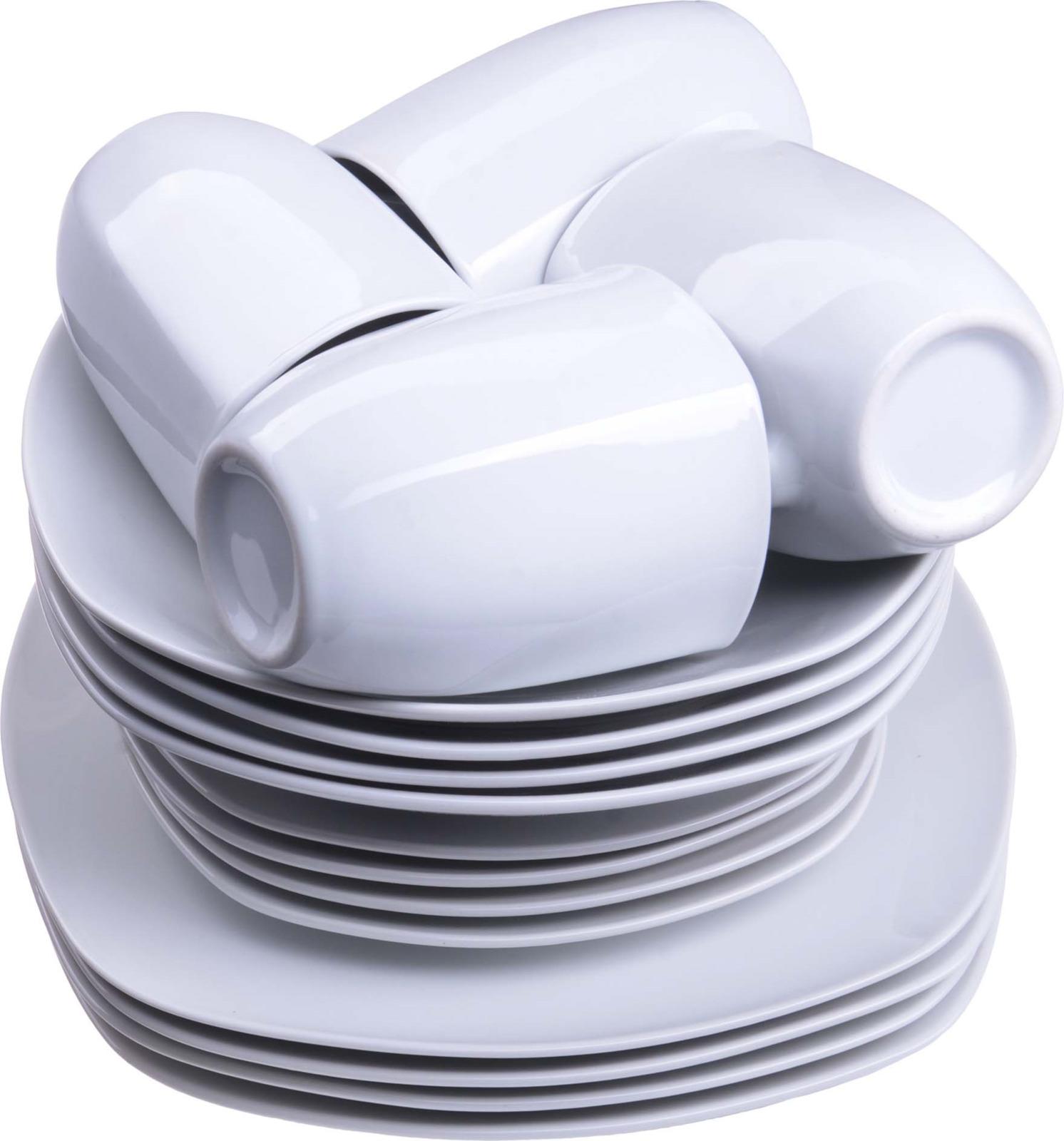 Сервиз обеденный Loraine, цвет: белый, 16 предметов. у4108